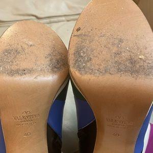 Valentino Shoes - Valentino Garavani Striped Leather Boots